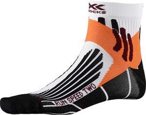 X-Socks Run Speed Two Sukat Miehet, valkoinen
