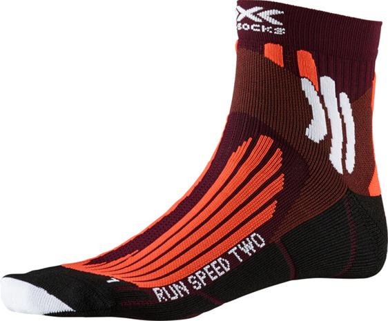 X-Socks Run Speed Two Sukat Miehet, oranssi