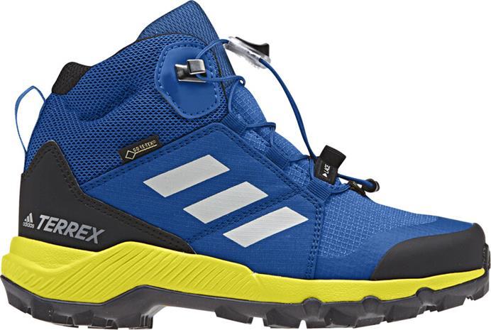 adidas TERREX Mid GTX Kengät Lapset, sininen, Lasten kengät