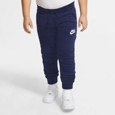 Nike Collegehousut NSW Fleece Club - Navy/Valkoinen Lapset, Miesten housut ja muut alaosat