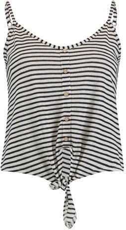 Hailys - Pipa - Toppi - Naiset - Laivastonsininen valkoinen, Naisten paidat, puserot, topit, neuleet ja jakut
