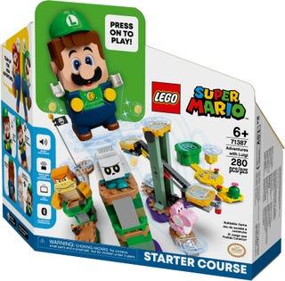 Lego Super Mario 71387, Seikkailut Luigin kanssa aloitusrata