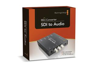 Blackmagic Design Mini Converter SDI to Audio, signaalinmuunnin