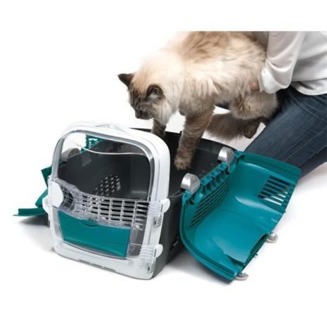 CAT IT Cabrio kuljetushäkki - Turkoosi sininen - kissoille