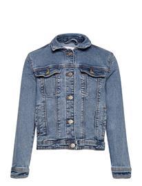 Mango Allegra Outerwear Jackets & Coats Denim & Corduroy Sininen Mango OPEN BLUE