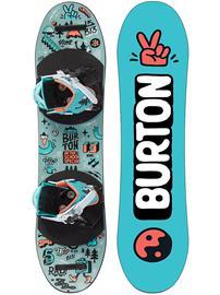 Burton After School Special 80 Snowboard Set no color