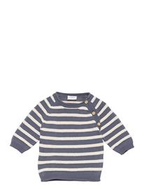 Hust & Claire Peng - Pullover Villapaita Harmaa Hust & Claire BLUE STORM