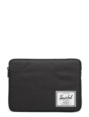 Herschel Anchor Sleeve For Ipad Air Matkapuhelintarvikkeet/covers Tablet Cases Musta Herschel BLACK