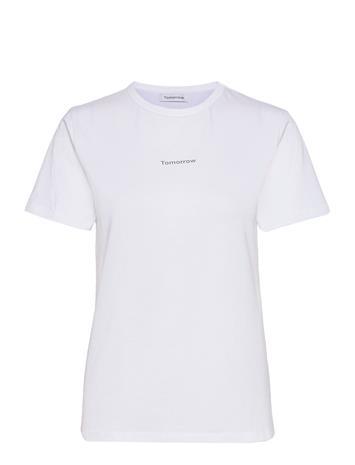 Tomorrow Logo Tee No. 6 T-shirts & Tops Short-sleeved Valkoinen Tomorrow WHITE