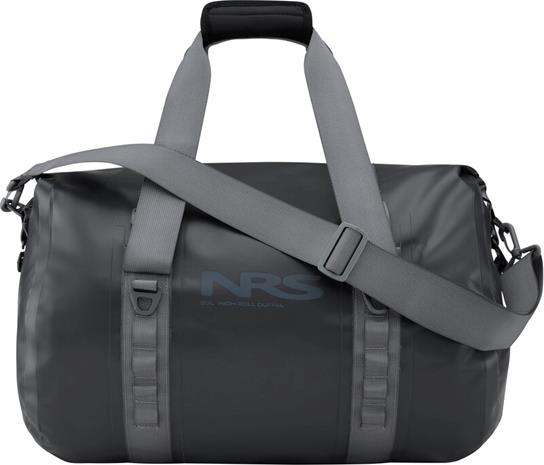 NRS High Roll Duffel Dry Bag 35l, musta