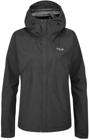 Rab Downpour Eco Jacket Women Musta 8