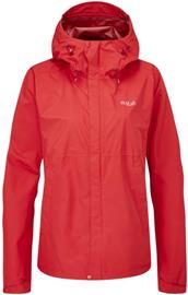 Rab Downpour Eco Jacket Women Punainen 16