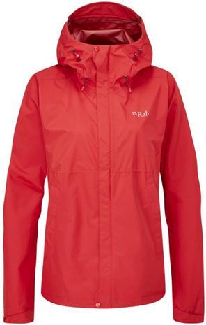 Rab Downpour Eco Jacket Women Punainen 14
