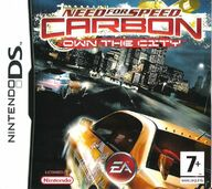 Need for Speed Carbon: Own the City, Nintendo DS -peli