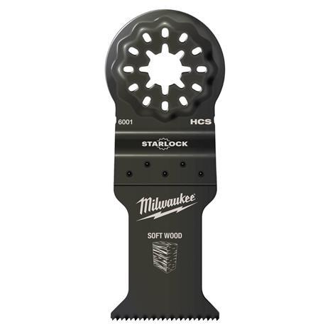Tarkkuusleikkuuterä Milwaukee 48906004; 35x42 mm; 10 kpl.