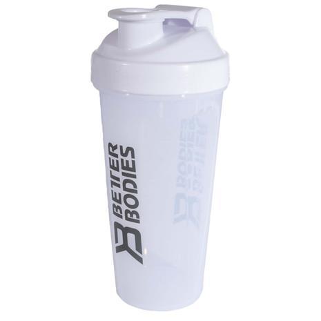 Better Bodies BB Shaker, 800 ml, White Grey