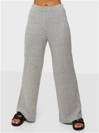 Vero Moda Vmtilda Hw Pant Exp Light Grey Melange