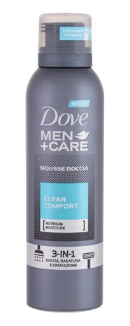 Dove Men + Care Clean Comfort suihkuvaahto miehelle 200 ml