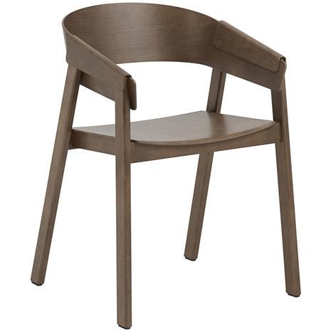 Muuto Muuto-Cover Chair, Dark stained oak