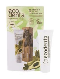 Ecodenta Organic Papaya hammastahna 10 ml