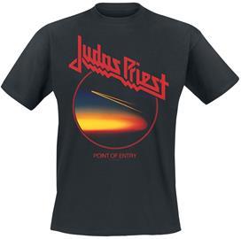 Judas Priest - Point Of Entry Anniversary - T-paita - Miehet - Musta
