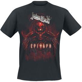 Judas Priest - Epitaph Red Horns - T-paita - Miehet - Musta