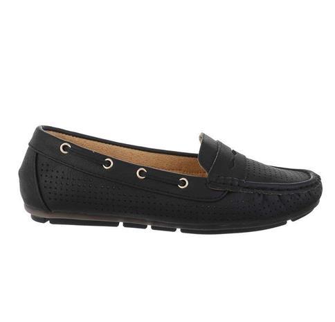Naisten kengät, musta 37