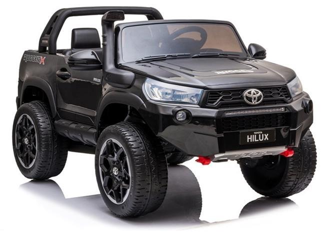 Toyota Hilux lasten sähköauto, musta