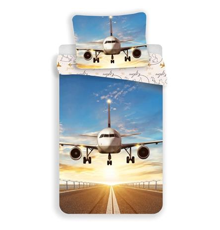 Plane -pussilakanasetti, 140 x 200 cm + 1 tyynyliina 70 x 90 cm