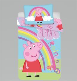 Peppa Pig baby -pussilakanasetti, 100 x 135 cm + 1 tyynyliina 40 x 60 cm