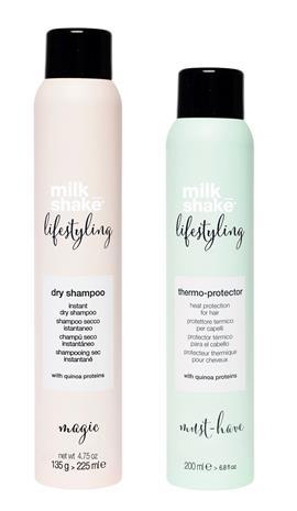milk_shake - Dry Shampoo Magic Scent 225 ml + Thermo Protector 200 ml