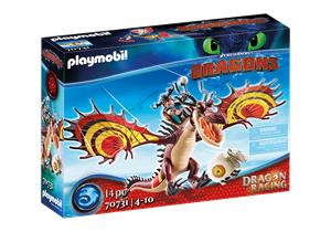 Playmobil - Dragon Racing: Snotlout and Hookfang (70731)
