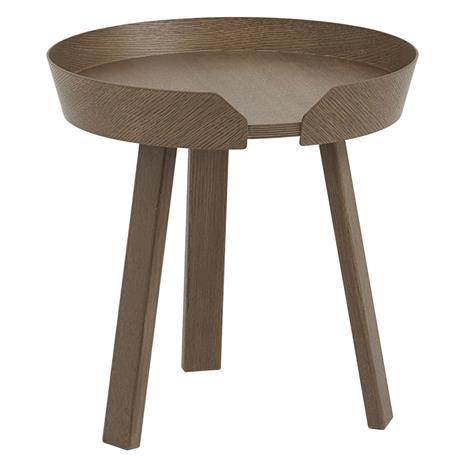 Muuto Muuto-Around Coffee Table S, Dark Stained Oak