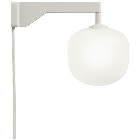 Muuto Muuto-Rime Wall Lamp, Grey