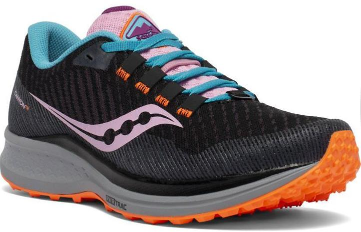 Saucony Women's Canyon Tr Musta US 7,5