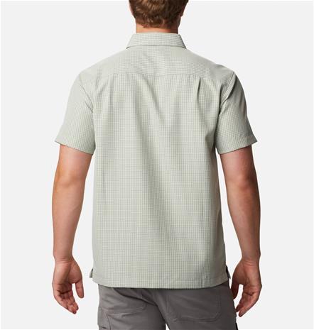 Columbia Men's Lakeside Trail II Short Sleeve Shirt Vaaleanvihreä M