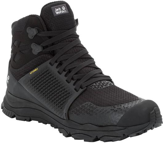 Jack Wolfskin Trail Invader Shield Mid M Black / Black UK 11,5