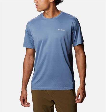 Columbia Men's Zero Ice Cirro-Cool T-Shirt Sininen L