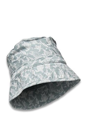 Petit by Sofie Schnoor Hat Accessories Headwear Sun Hats Sininen Petit By Sofie Schnoor DUSTY BLUE