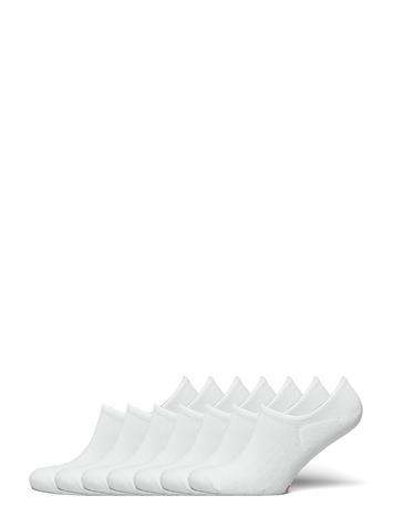 JBS Jbs In-Shoe Bamboo 7 Pairs Box Nilkkasukat Lyhytvartiset Sukat Valkoinen JBS VIT