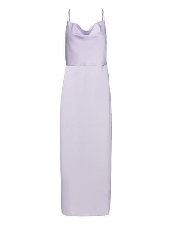 Envii Enkrystle Sl Dress 6785 Dresses Evening Dresses Vihreä Envii DEEP LICHEN GREEN