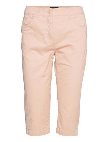 Brandtex Capri Pants Trousers Capri Trousers Vaaleanpunainen Brandtex PALE BLUSH