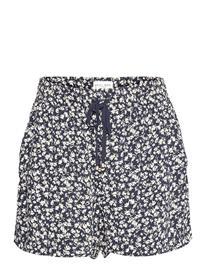 Lindex Shorts Beach Shorts Flowy Shorts/Casual Shorts Sininen Lindex WHITE