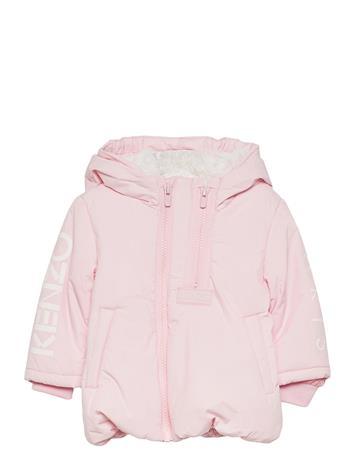 Kenzo Jacket Outerwear Snow/ski Clothing Snow/ski Jacket Vaaleanpunainen Kenzo PALE PINK