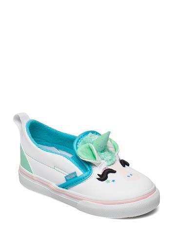 VANS Td Slip-On V Uni Matalavartiset Sneakerit Tennarit Valkoinen VANS (UNICORN)BLATOLLIRDESCENT