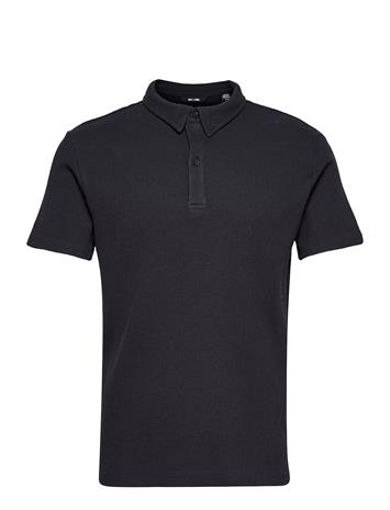 ONLY & SONS Onsalf Life Reg Ss Polo Polos Short-sleeved Musta ONLY & SONS DARK NAVY