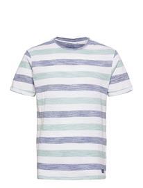 Blend Tee T-shirts Short-sleeved Valkoinen Blend MOONLIGHT BLUE