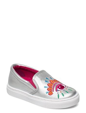 Kenzo Shoes Matalavartiset Sneakerit Tennarit Hopea Kenzo LAME SILVER