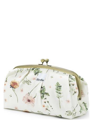 Elodie Details Zip&Go - Meadow Blossom Bags Clutches Monivärinen/Kuvioitu Elodie Details WHITE/PINK/GREEN