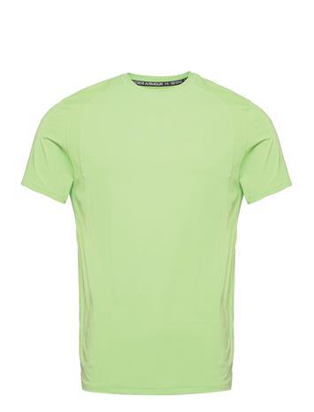 Under Armour Ua Iso-Chill Run 200 Ss T-shirts Short-sleeved Vihreä Under Armour SUMMER LIME